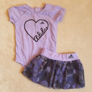 Adidas Skirt Outfit